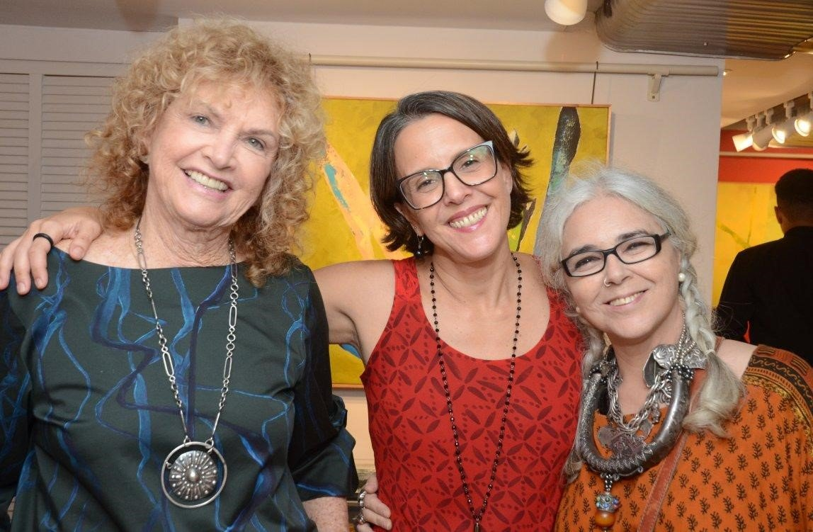 Ira Etz, Laura Evandro e Helenice Dornelles /Foto: Marco Rodrigues