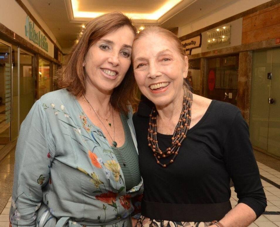 Vera Bocayuva e Marina Colasanti /Foto: Marco Rodrigues