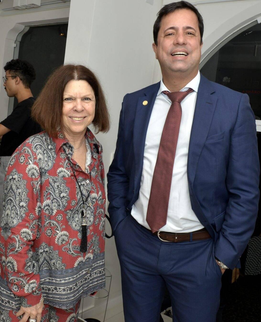 Vanda Klabin  e  Eduardo Braule-Wanderley  /Foto:  Cristina Granato