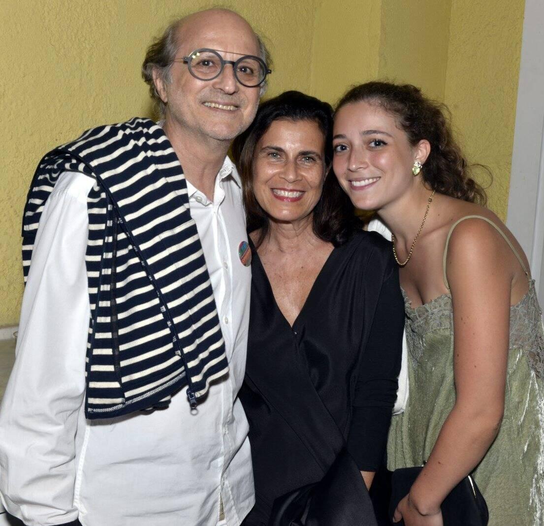 Marcio Doctors, Claudia Bakker e  Betina Doctors  /Foto:  Cristina Granato