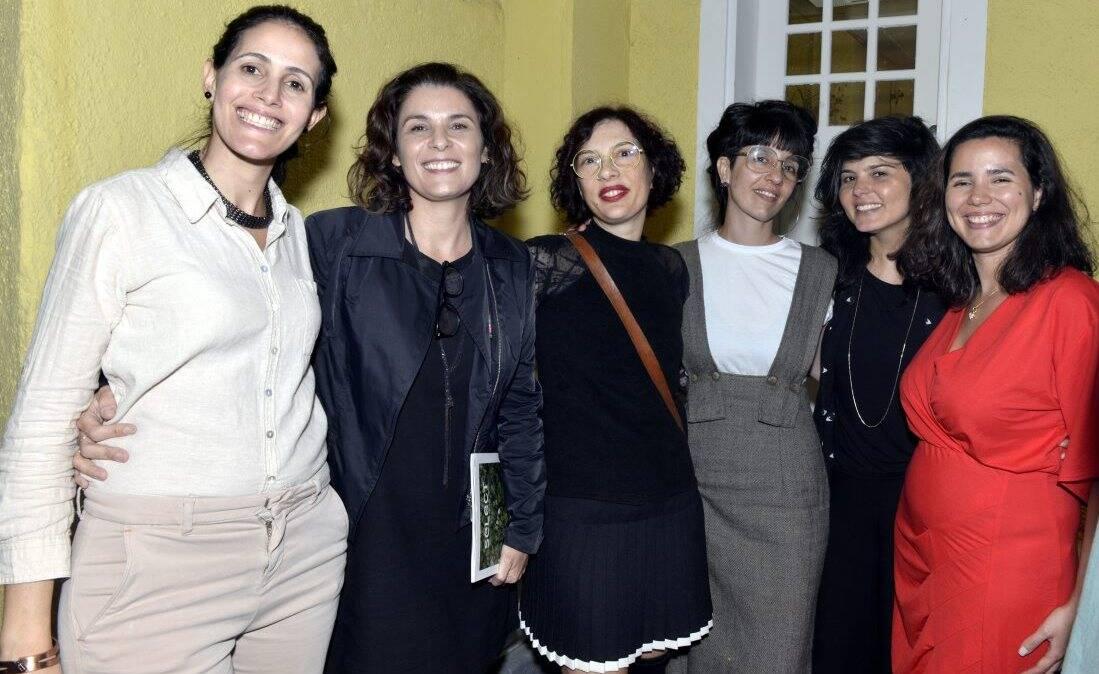 Patricia Toscano, Jeane Terra, Patrizia D' angelo, Leandra Espirito Santo , Roberta Carvalho e Erika Nascimento  /Foto:  Cristina Granato