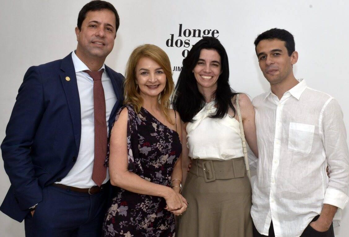 Eduardo Braule-Wanderley, Simone Cadinelli, Liliane Benetti  e Jimson Vilela  /Foto:  Cristina Granato