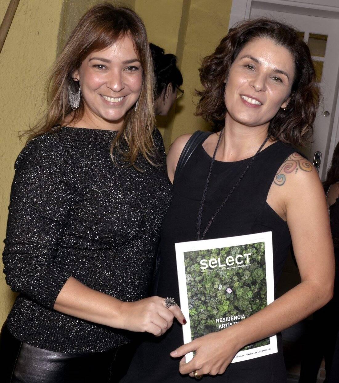 Ludimila Oliveira e Jeane Terra   /Foto:  Cristina Granato