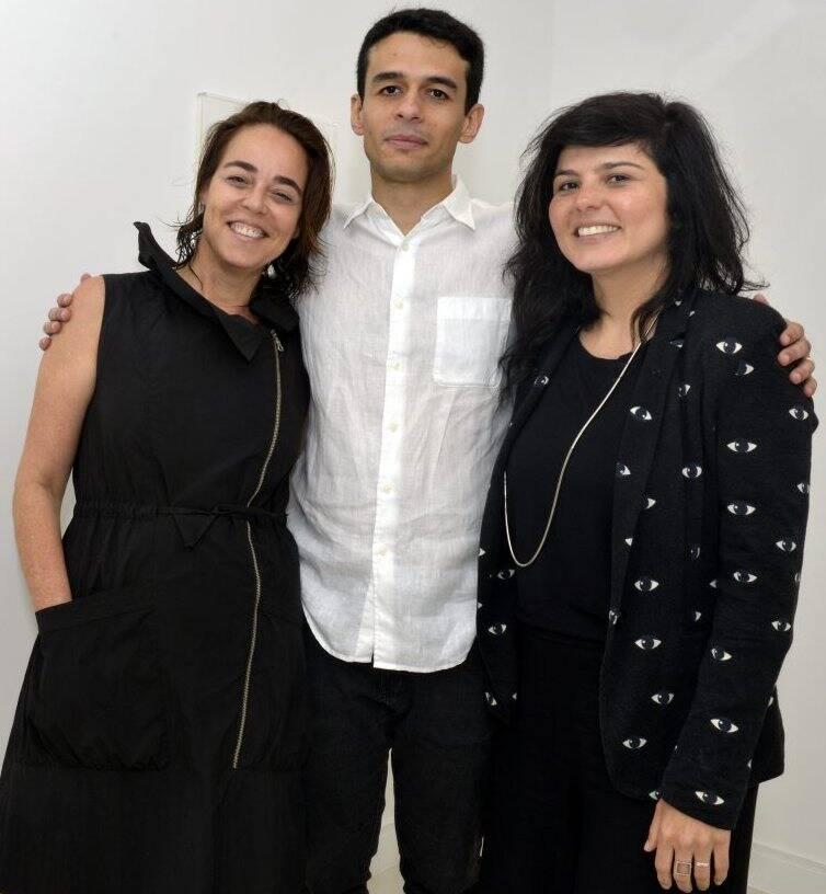 Ursula Tautz, Jimson Vilela e Roberta  Carvalho  /Foto:  Cristina Granato