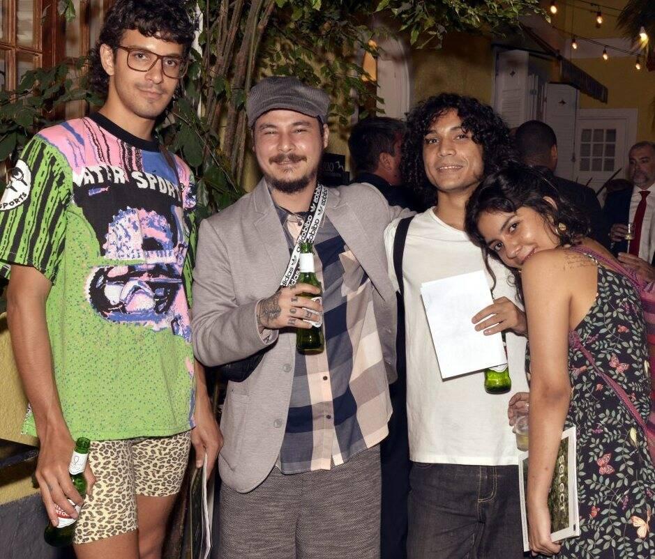 Rodrigo Rapucci, Tobinaga, Luca e Luisa Pereira  /Foto:  Cristina Granato