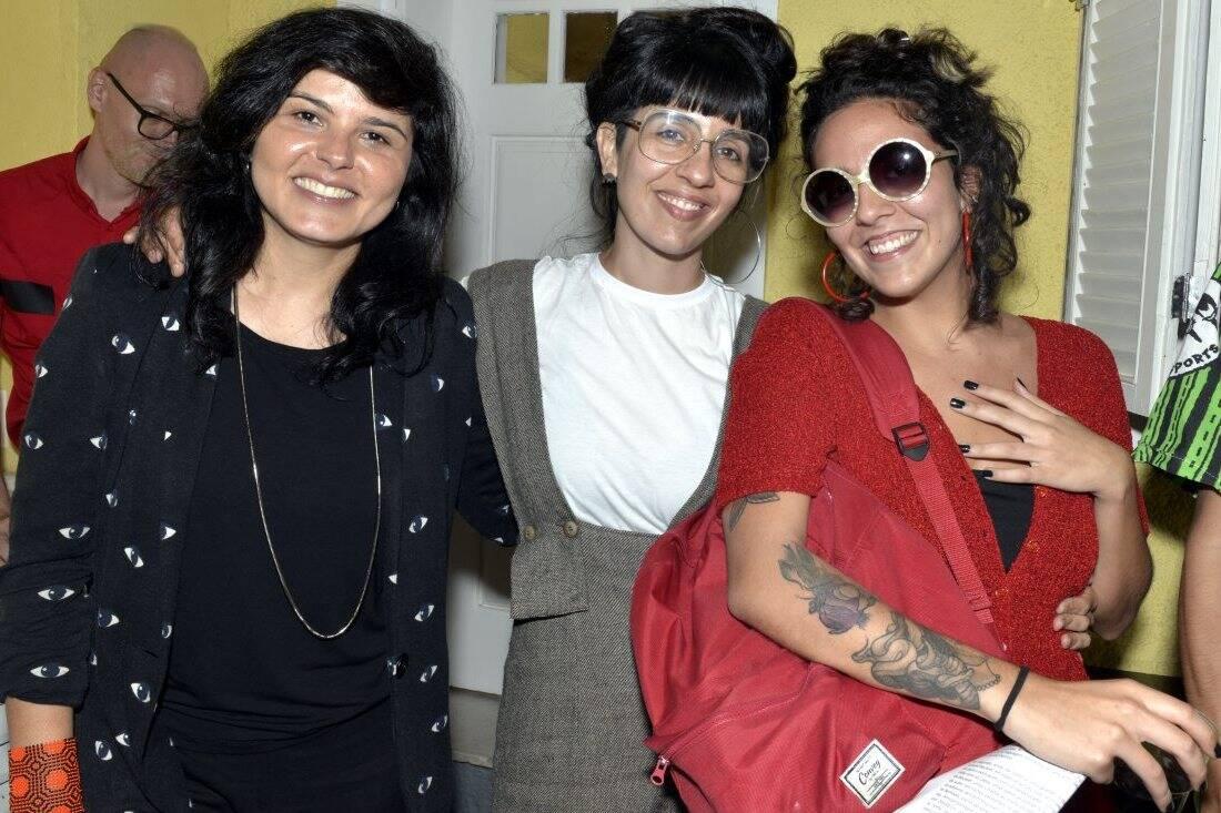 Roberta Carvalho , Leandra Espirito Santo e Silvia Diel  /Foto:  Cristina Granato