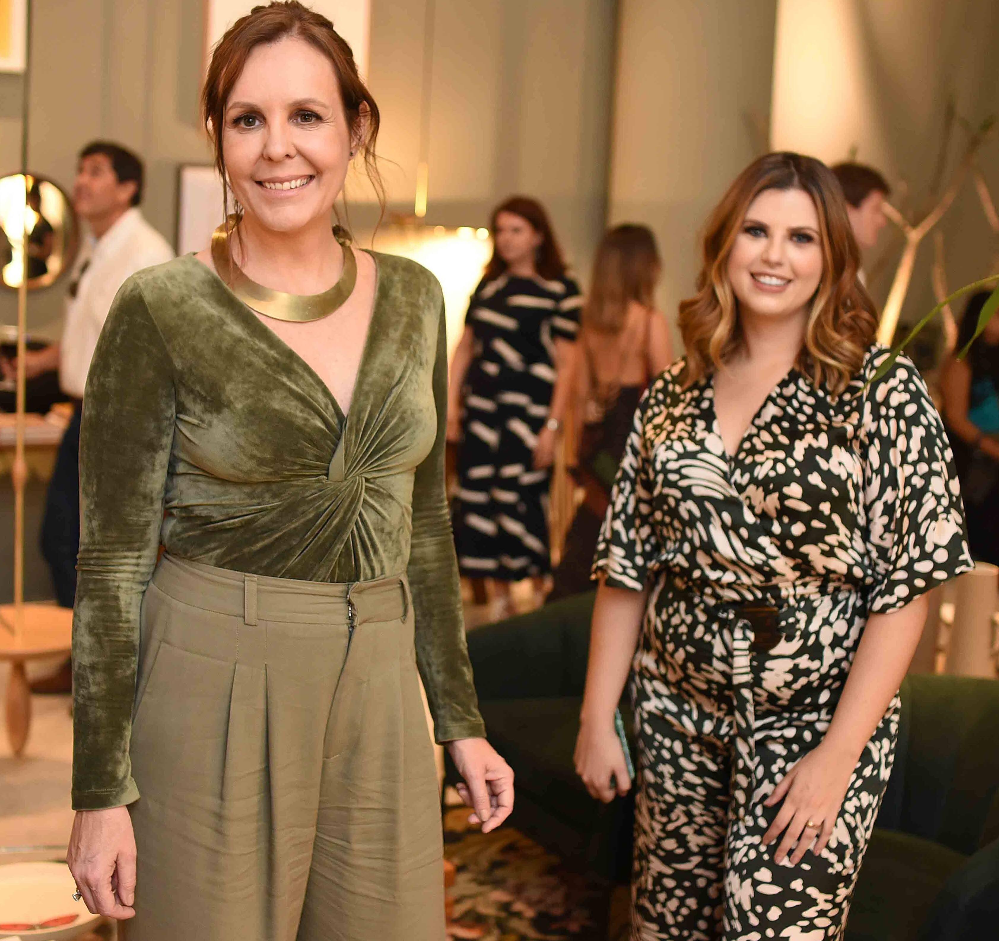 Adriana Esteves e Mariana Junqueira /Foto: Ari Kaye