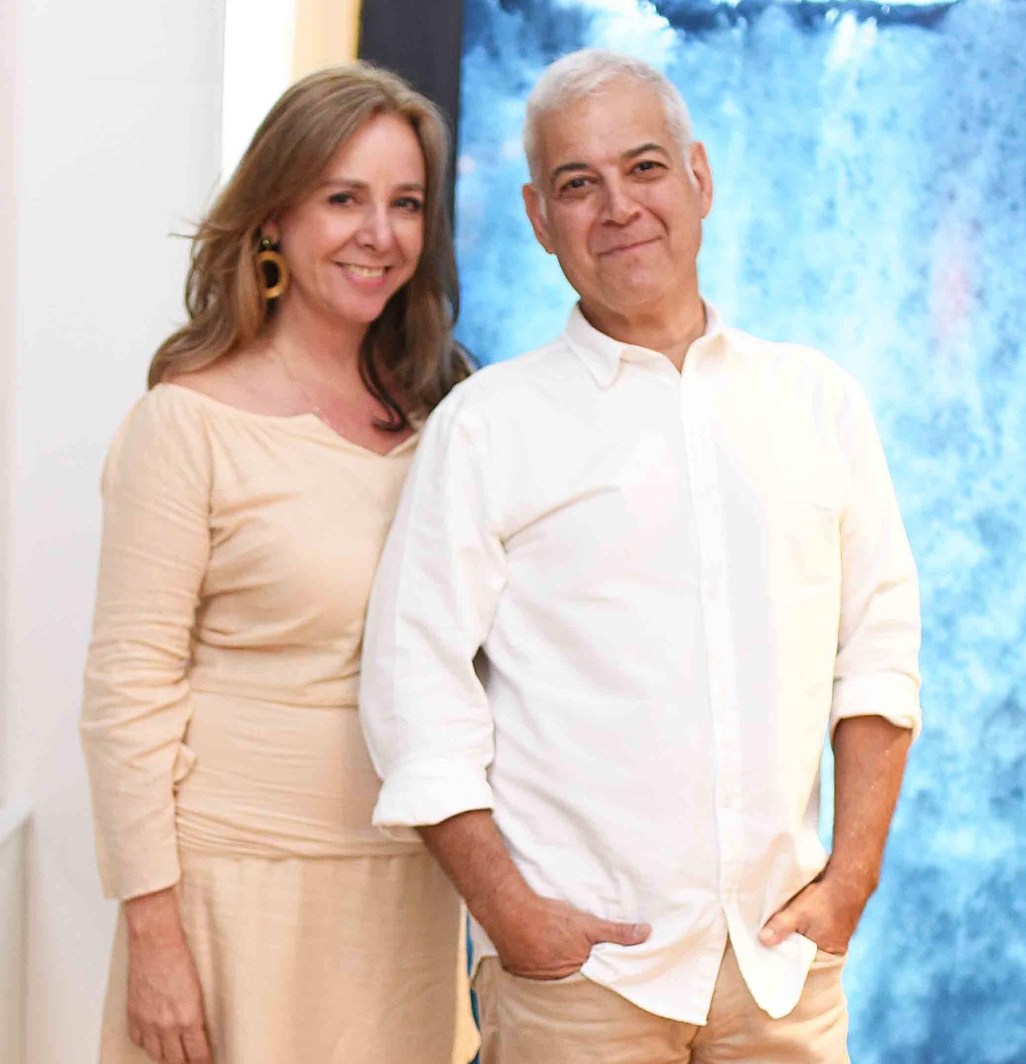 Cecilia e Mauricio Nóbrega /Foto: Ari Kaye