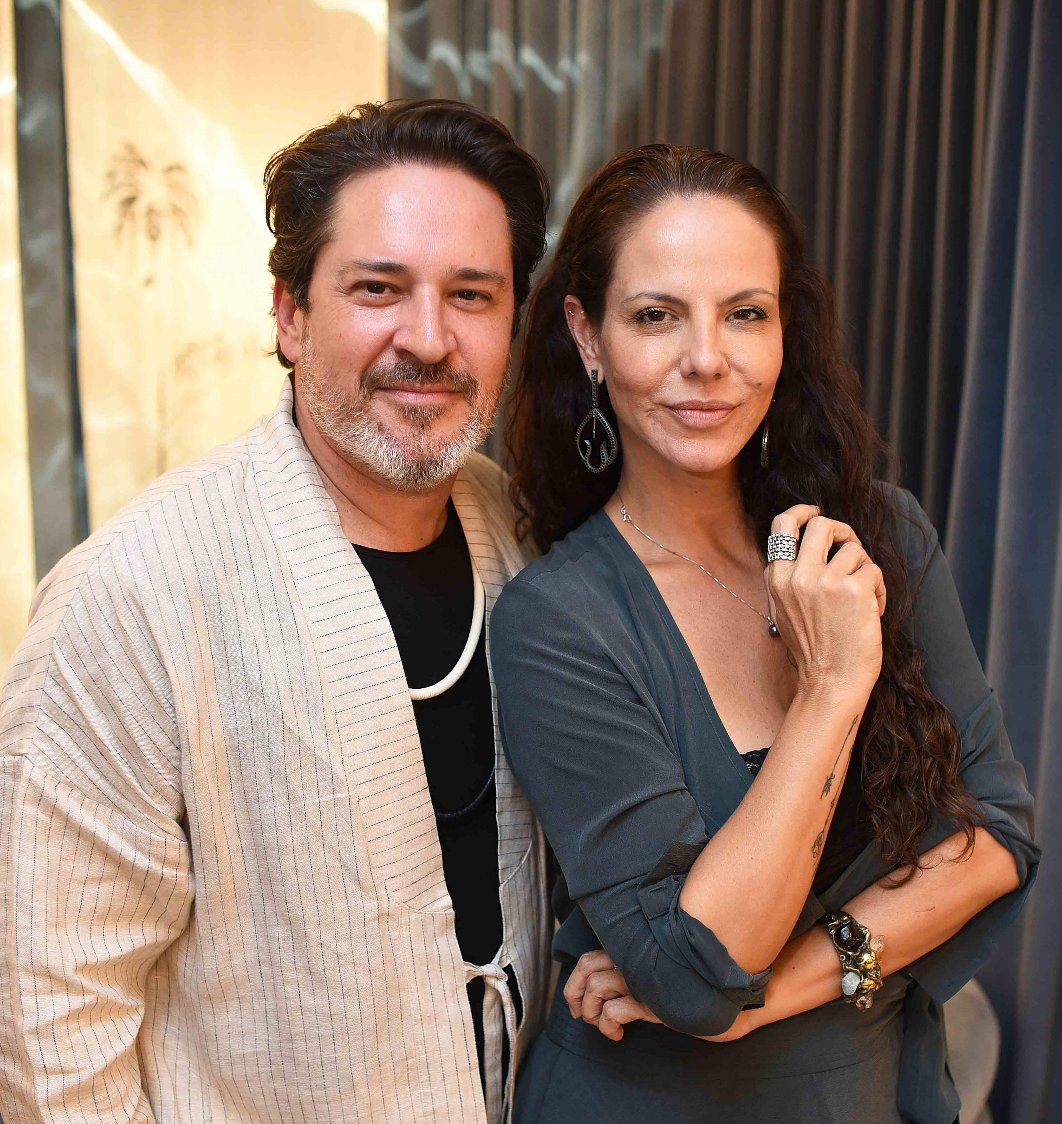 Celso Rayol e Carolyna Vaz /Foto: Ari Kaye