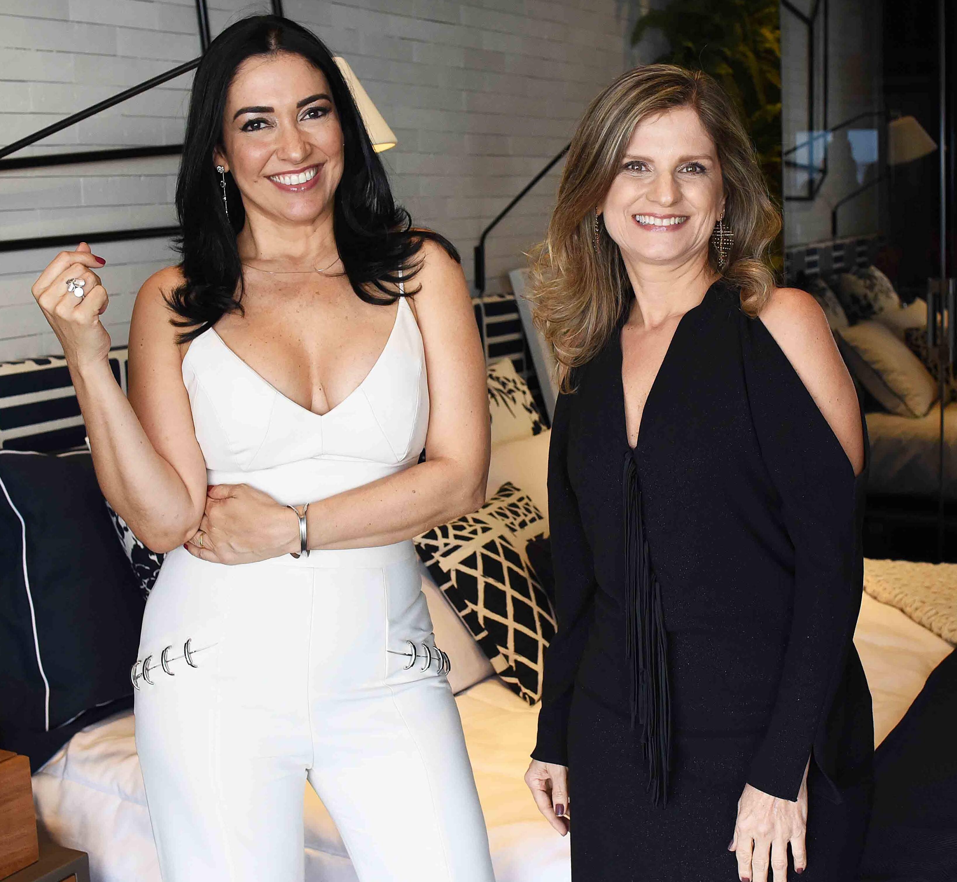 Cristina Cortes e Claudia Santana /Foto: Ari Kaye
