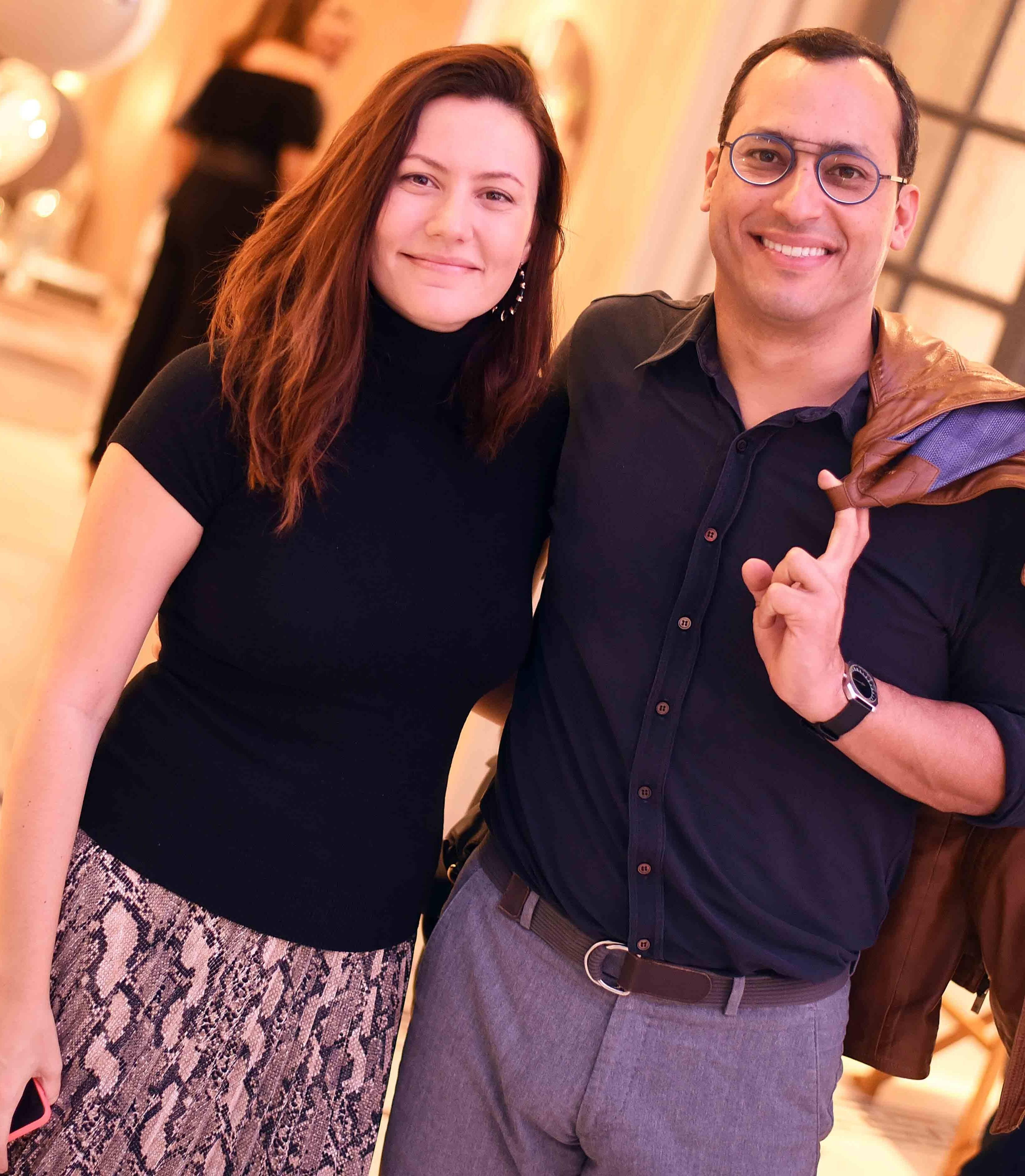 Diana Raposo e Guto Indio da Costa /Foto: Ari Kaye