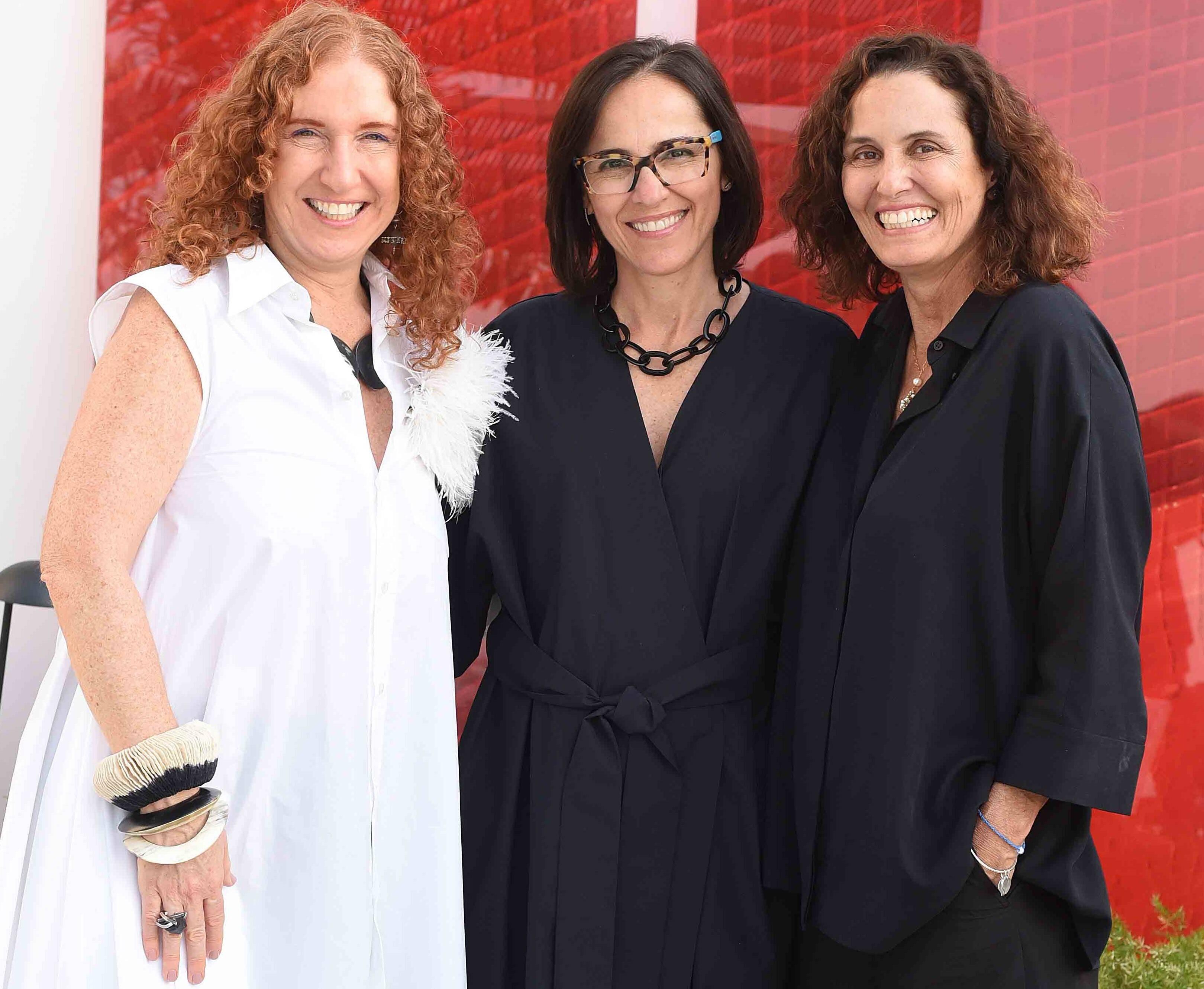 Adriana Lerner, Gisele Taranto e Maritza Caneca /Foto: Ari Kaye
