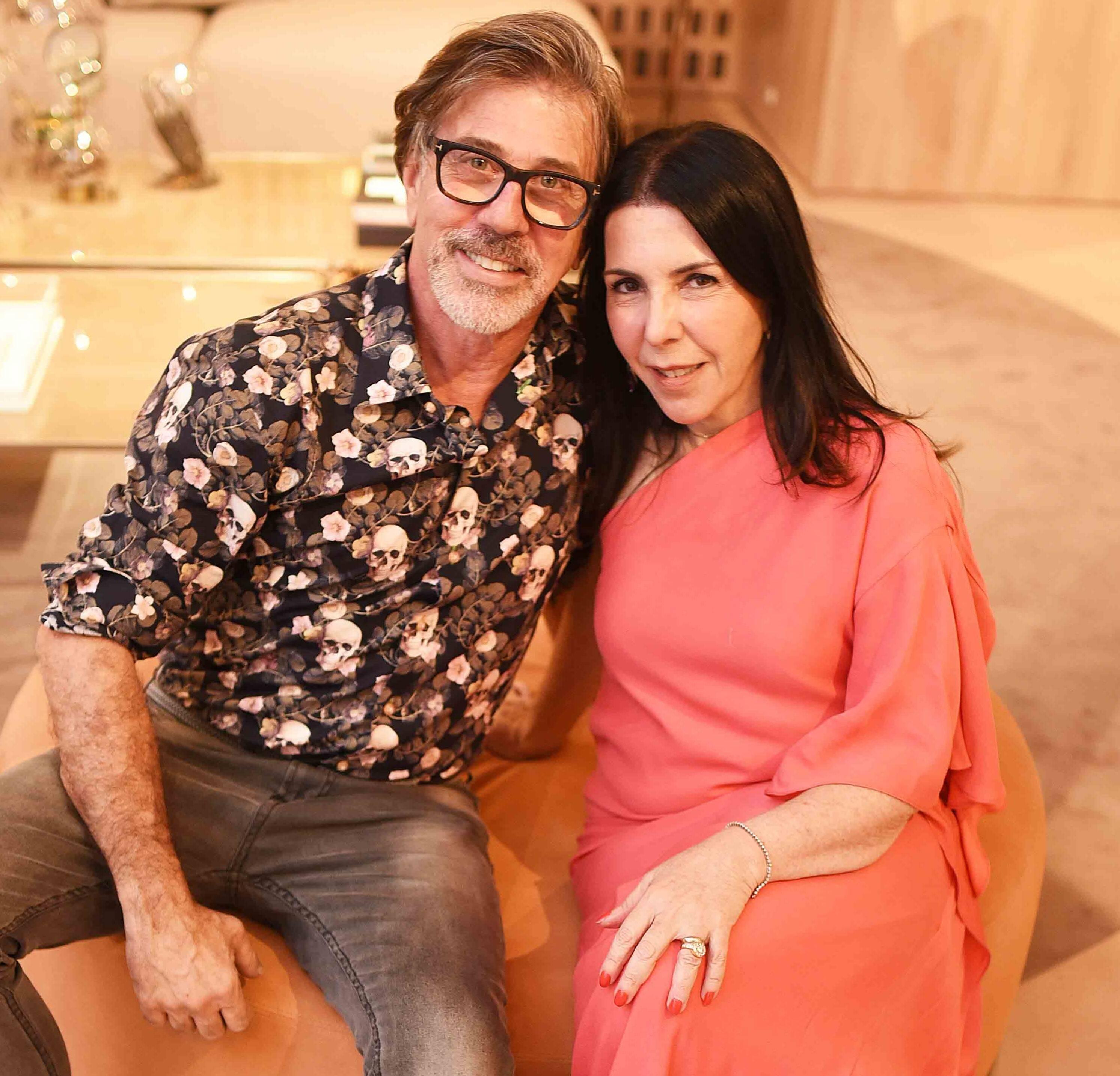 Jairo de Sender e Paola Ribeiro /Foto: Ari Kaye