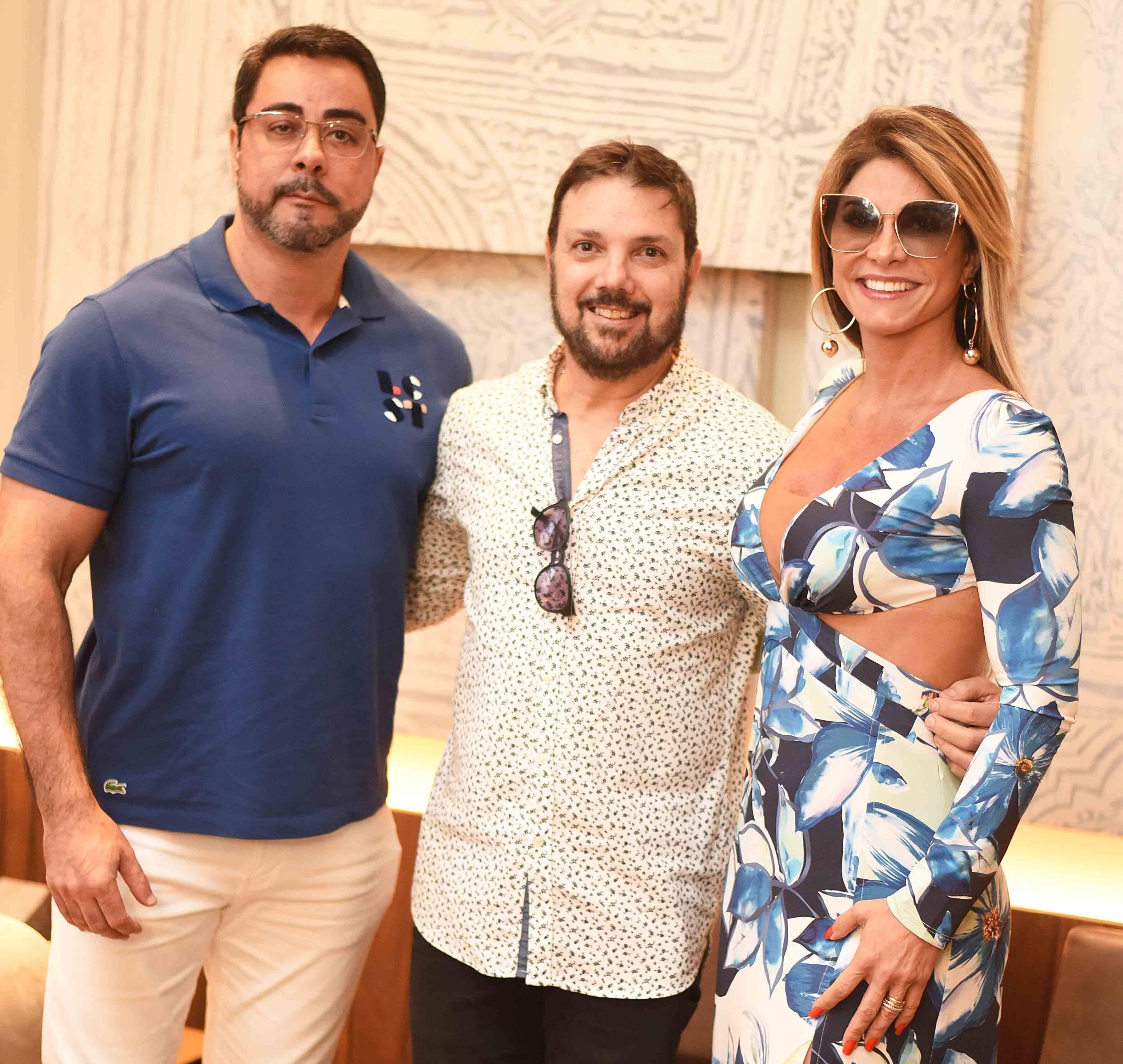 Marcelo Bretas, Mario Santos e Simone Bretas /Foto: Ari Kaye