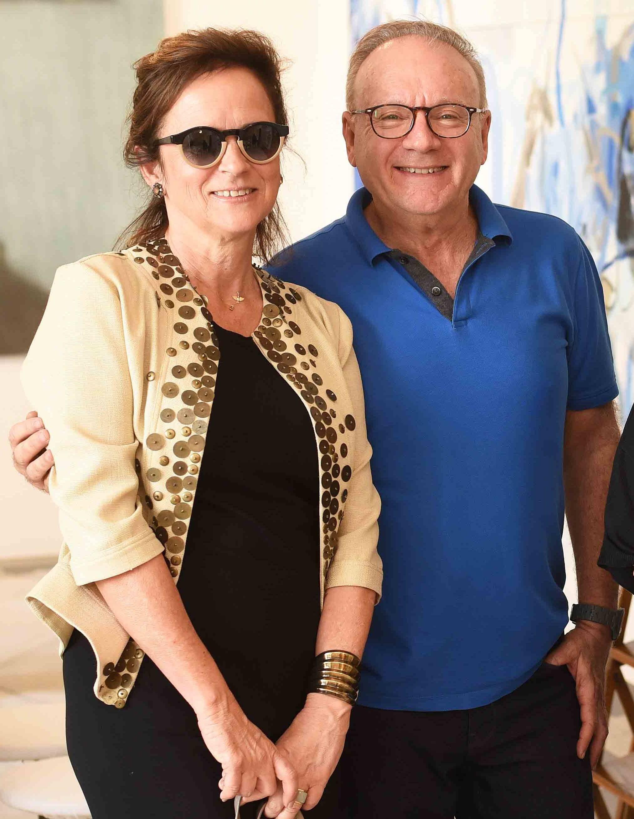 Patricia Quentel e Roberto Dimberio /Foto: Ari Kaye
