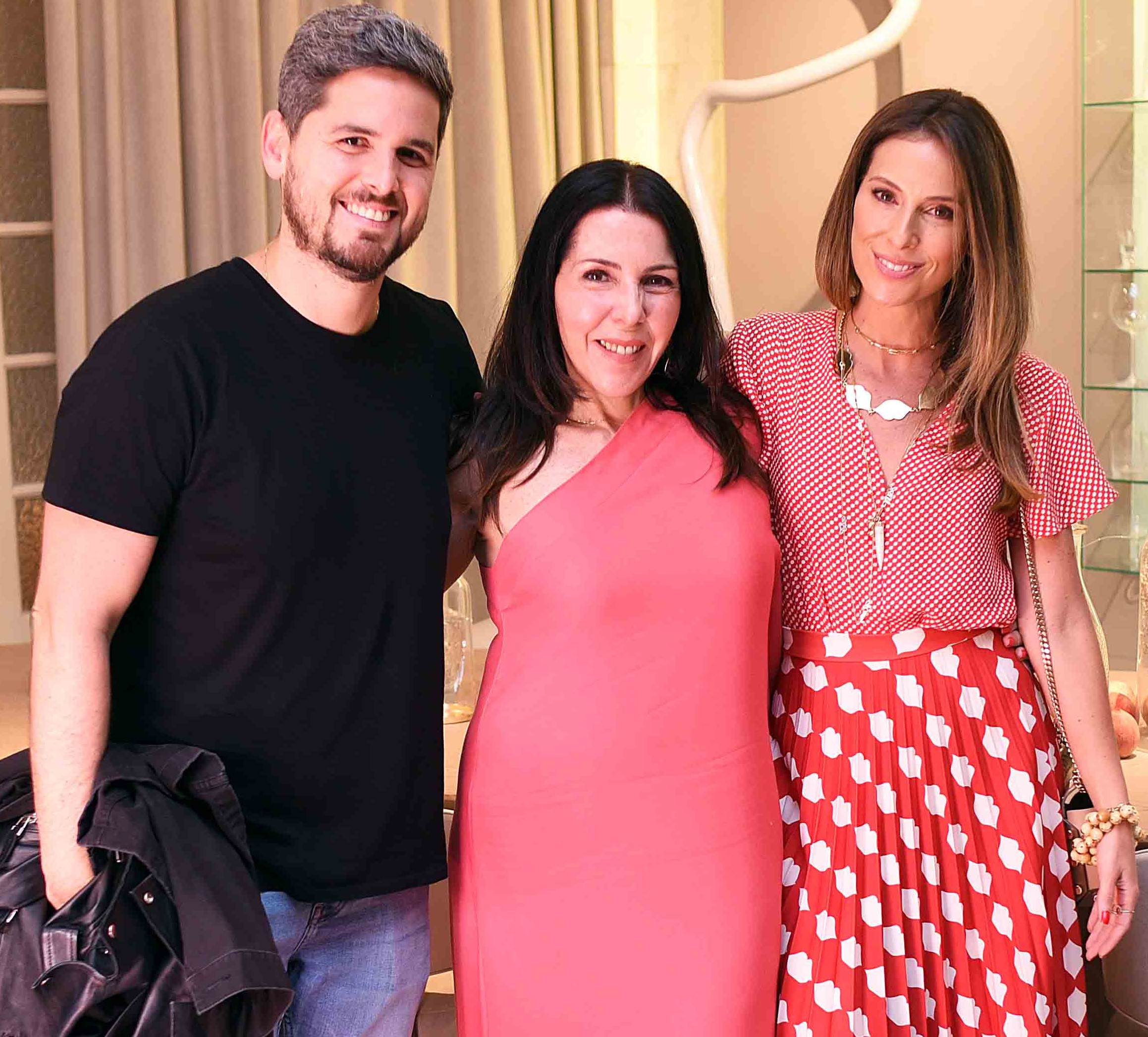 Rony Meisler, Paola Ribeiro e Anny Meisler /Foto: Ari Kaye