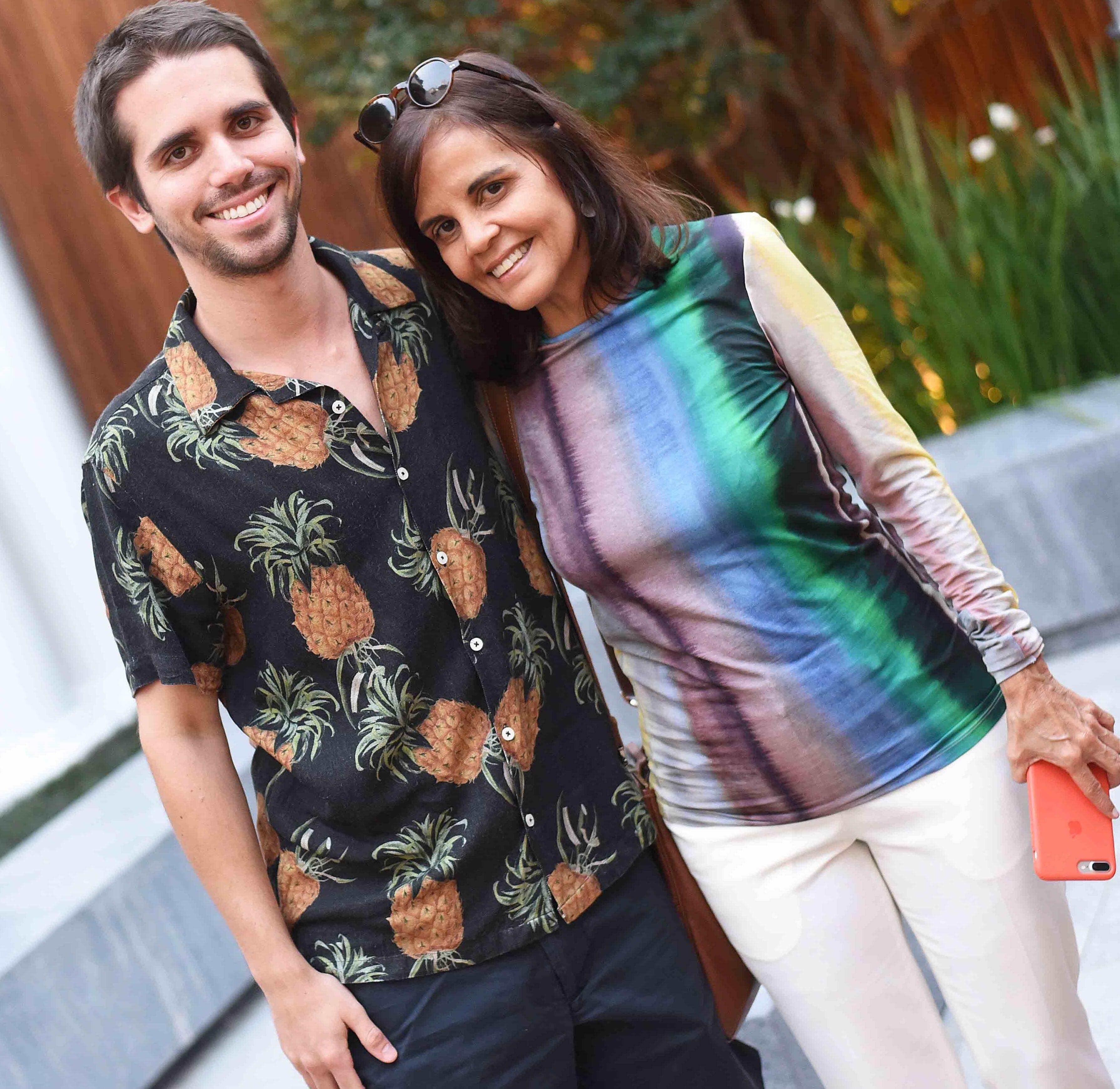 Cadu Mendes e Angela Falcão /Foto: Ari Kaye