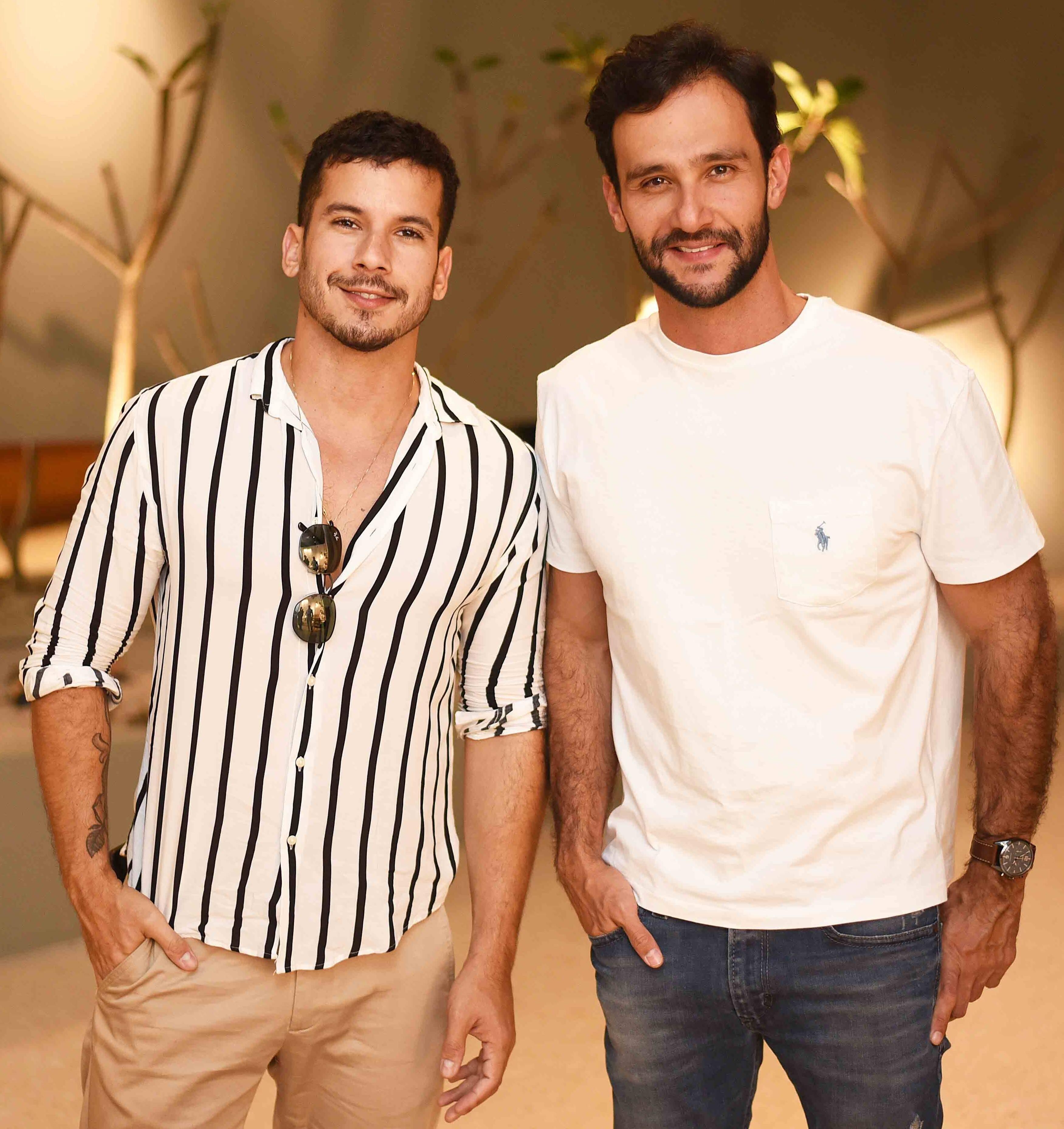 Carlos Carvalho e Pedro Melo /Foto: Ari Kaye
