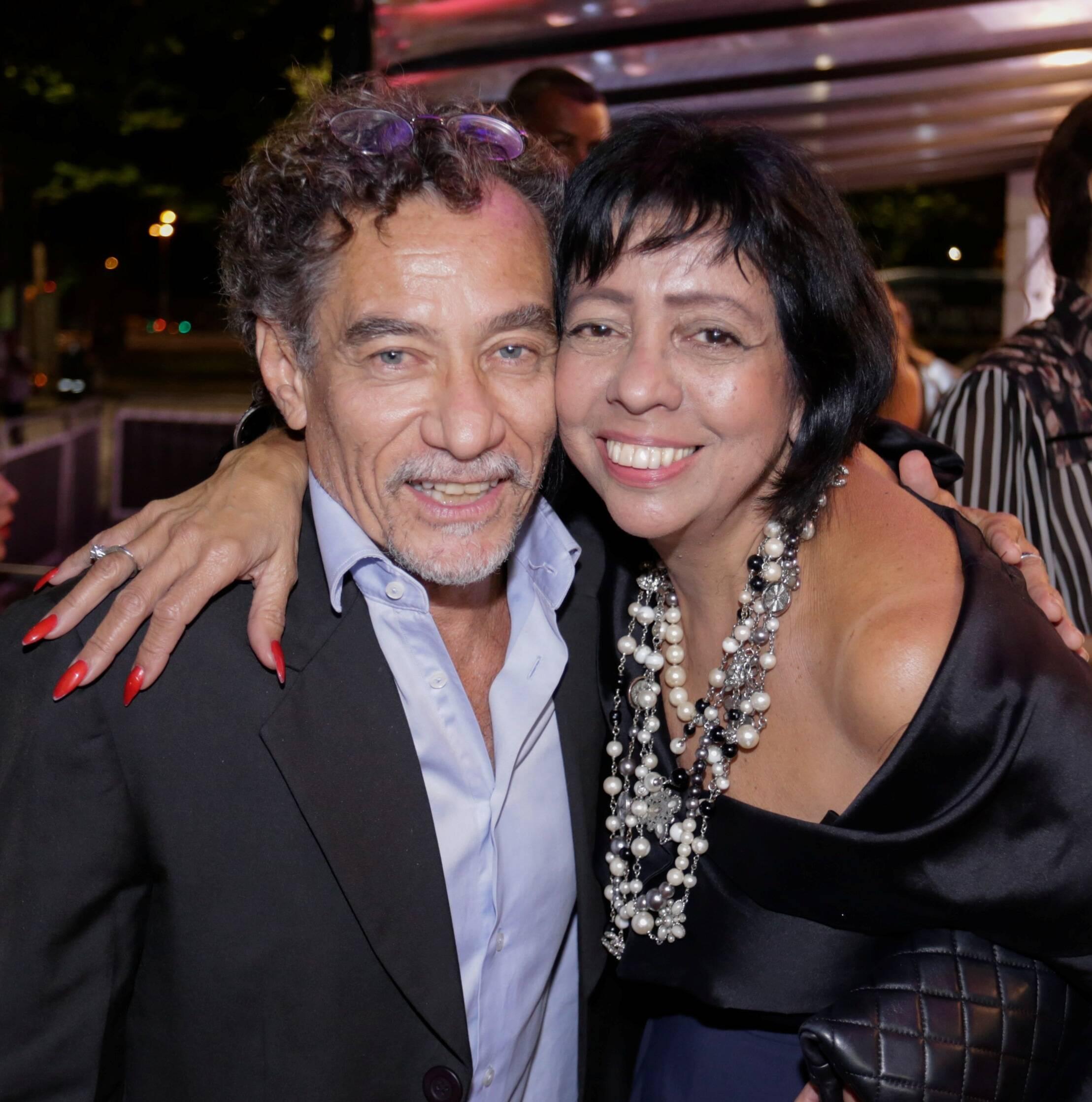 Chico Diaz e Walkiria Barbosa /Foto: Divulgação