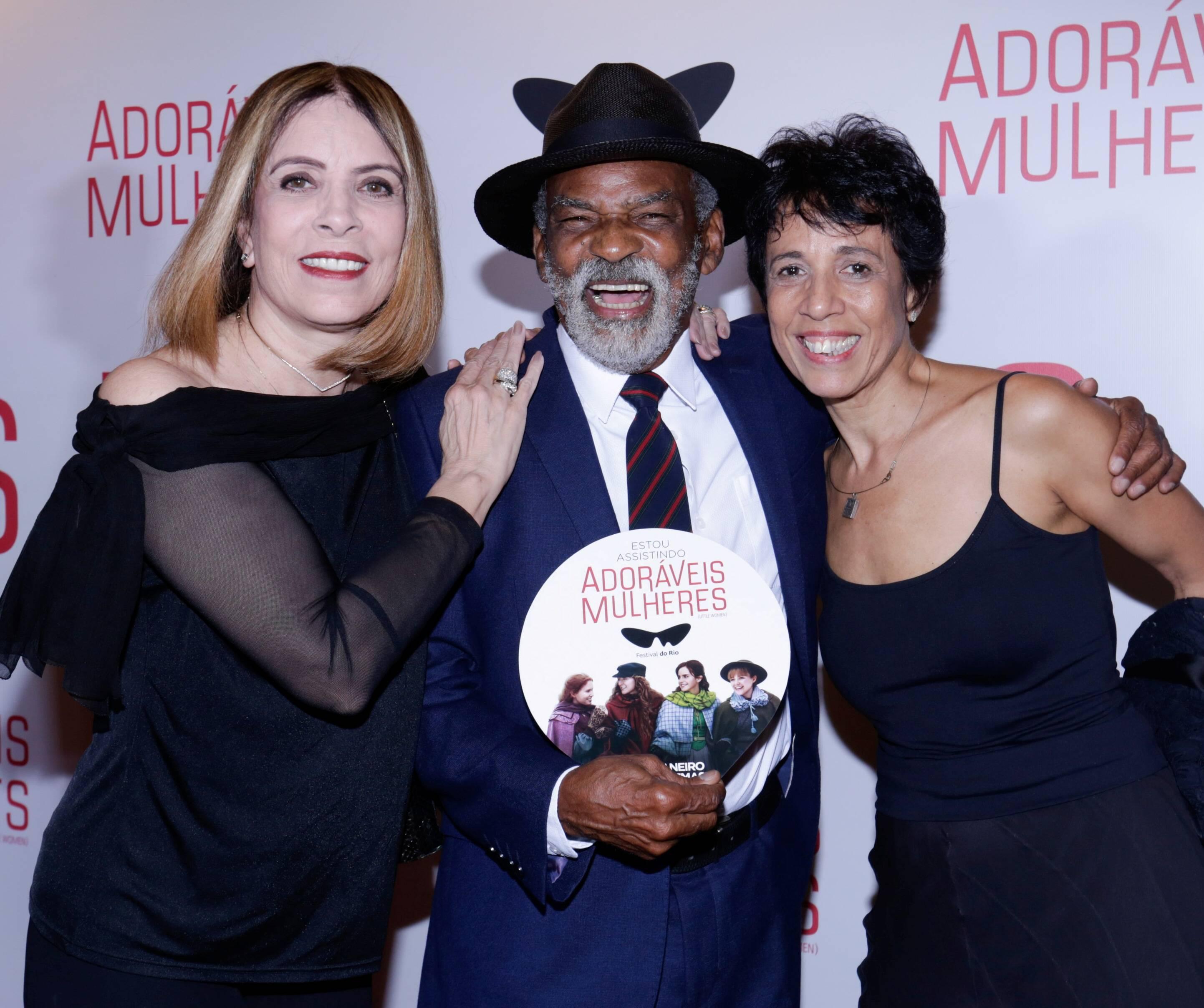 Liége Monteiro, Antonio Pitanga e Vilma Lustosa  /Foto: Divulgação