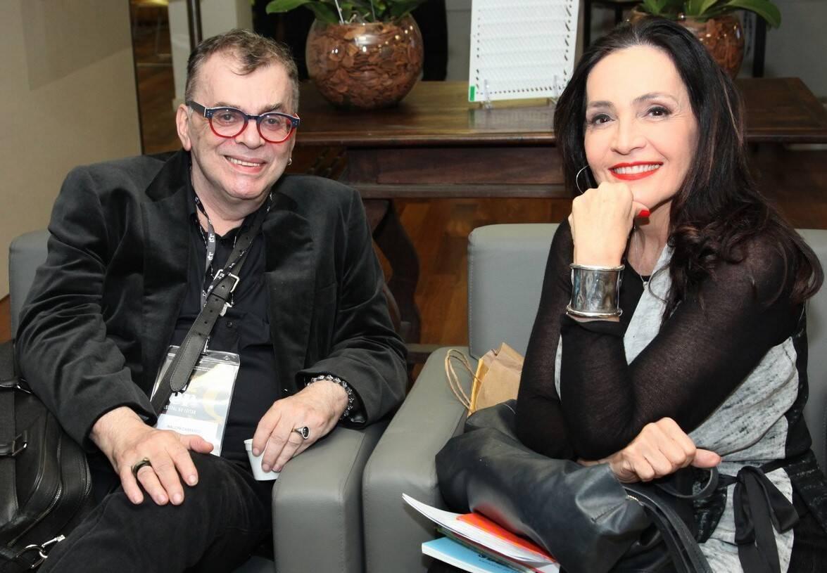 Walcyr Carrasco e Liliana Rodriguez  /Foto: Vera Donato