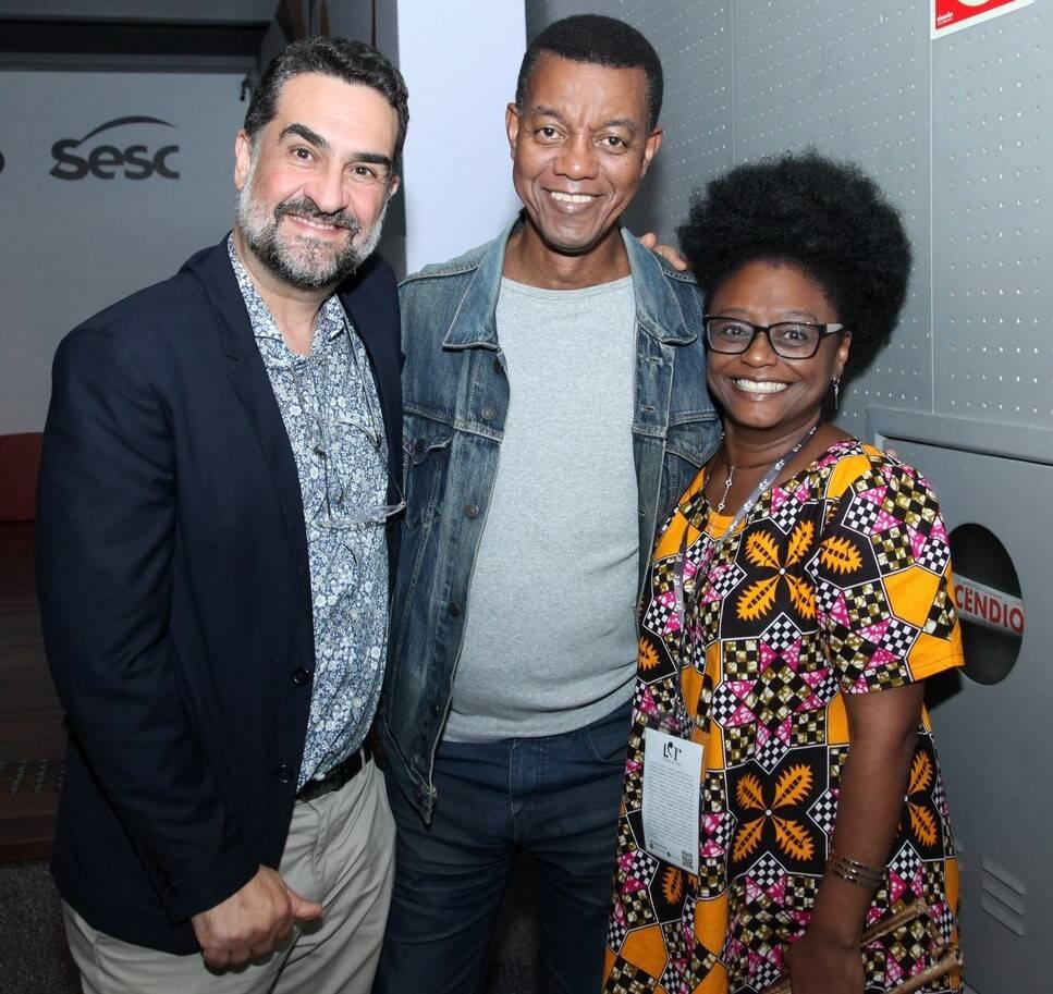 Julio Silveira, Tom Farias e KIiusam de Oliveira  /Foto: Vera Donato