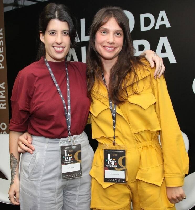 As escritoras Luiza Vilela e Luiza Mussnich   /Foto: Vera Donato