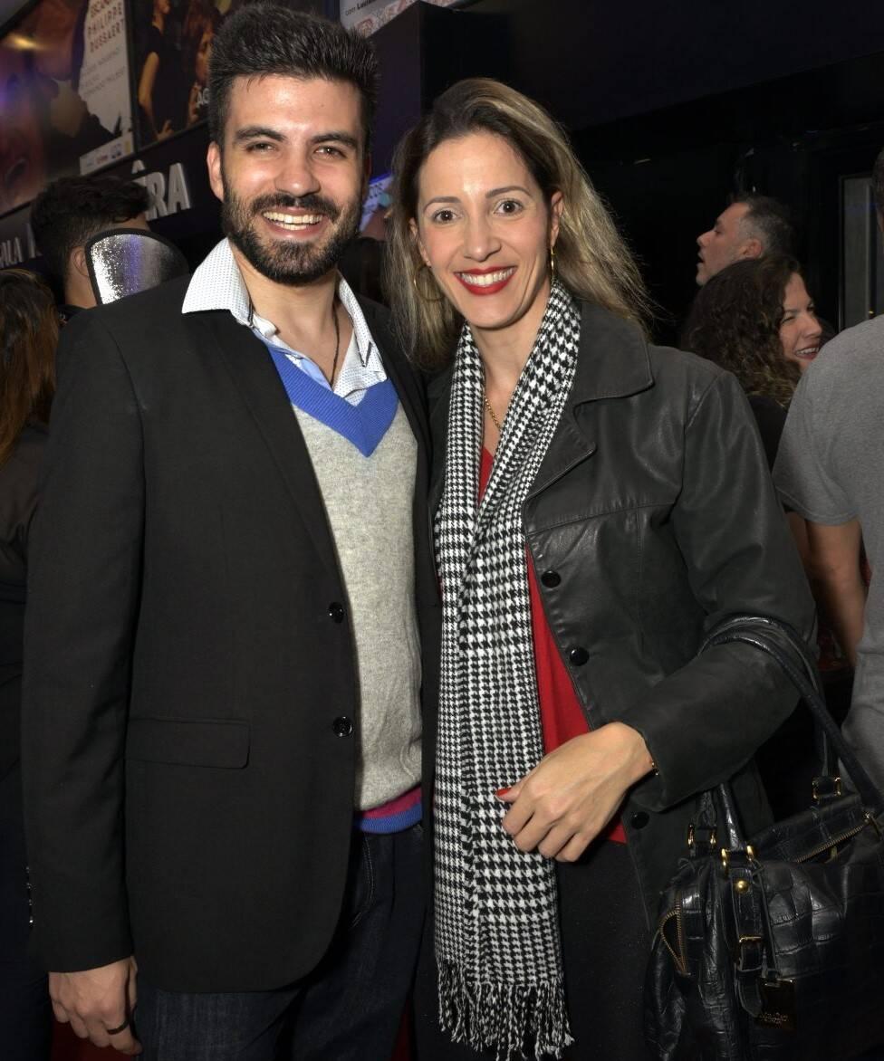 Felipe de Barros e Luciana Carvalho  /Foto: Cristina Granato