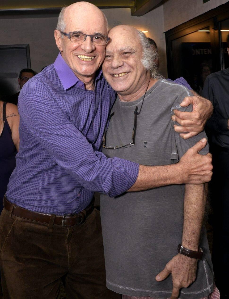 Marcos Caruso e Tonico Pereira  /Foto: Cristina Granato