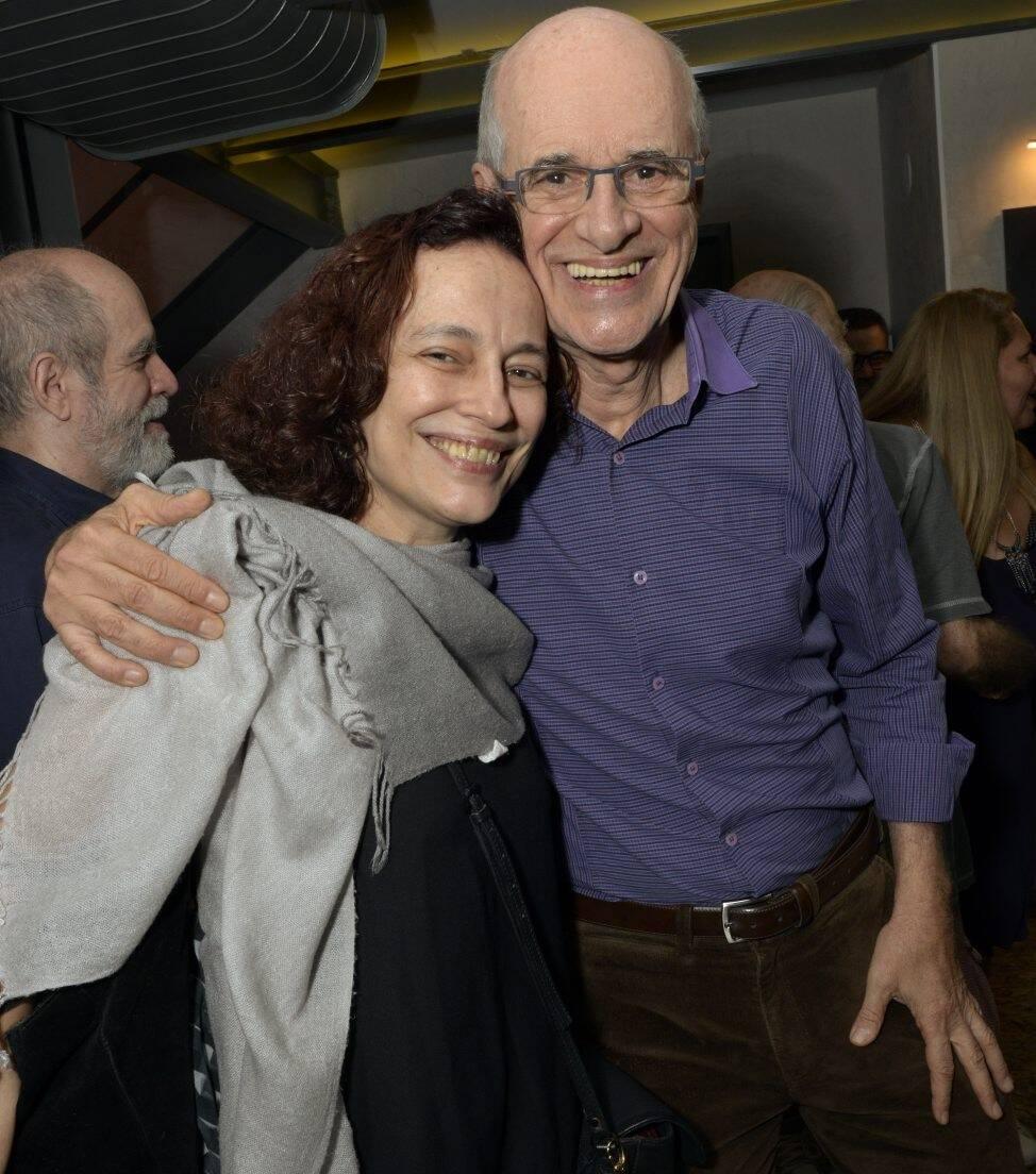 Marina Salomon e  Marcos Caruso  /Foto: Cristina Granato