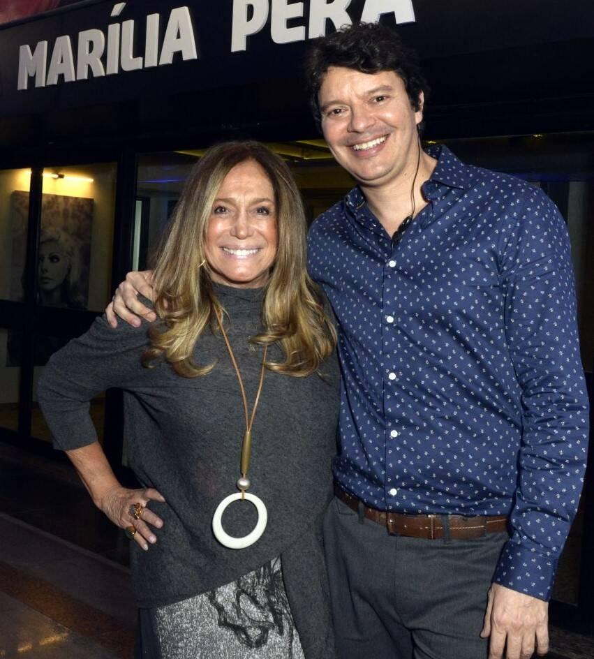 Suzana Vieira e André Junqueira  /Foto: Cristina Granato