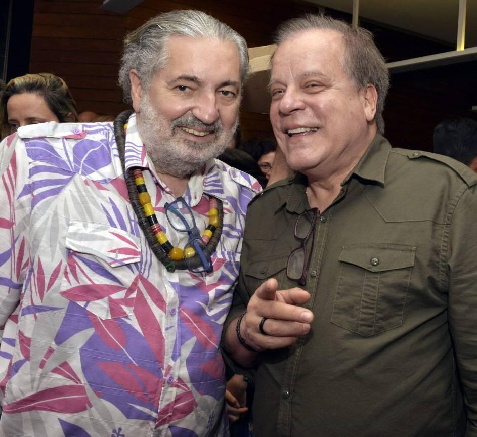 Moacyr Luz e Chico Pinheiro  /Foto: Cristina Granato