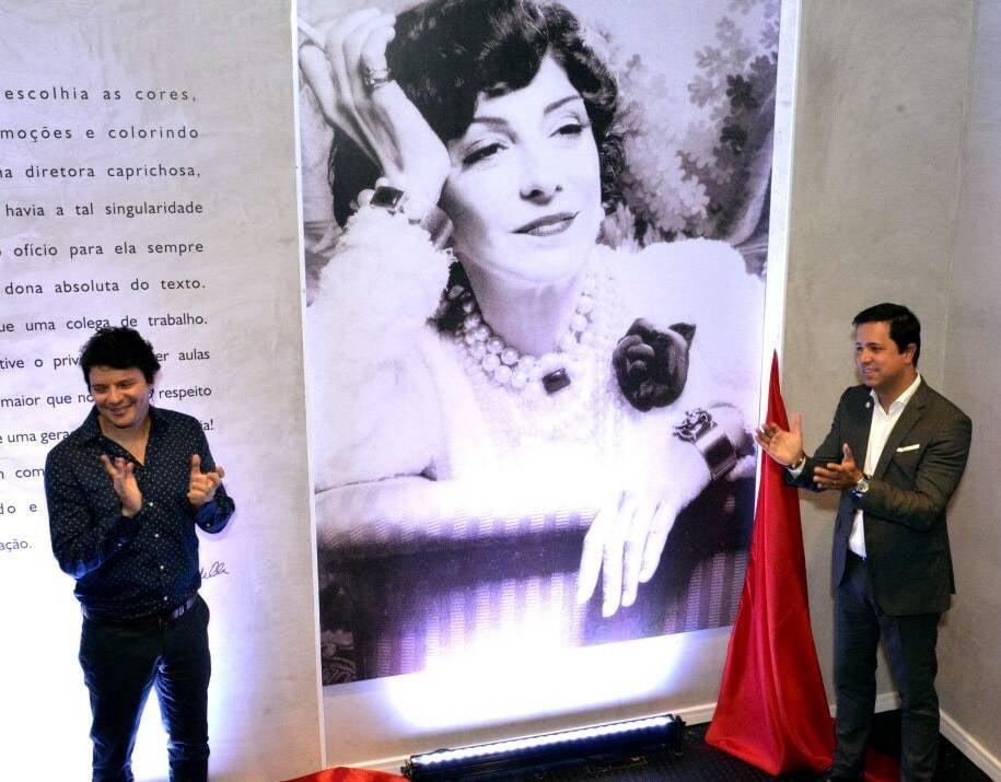 Homenagem a Marília Pêra:  André Junqueira e Eduardo Wanderley  /Foto: Cristina Granato