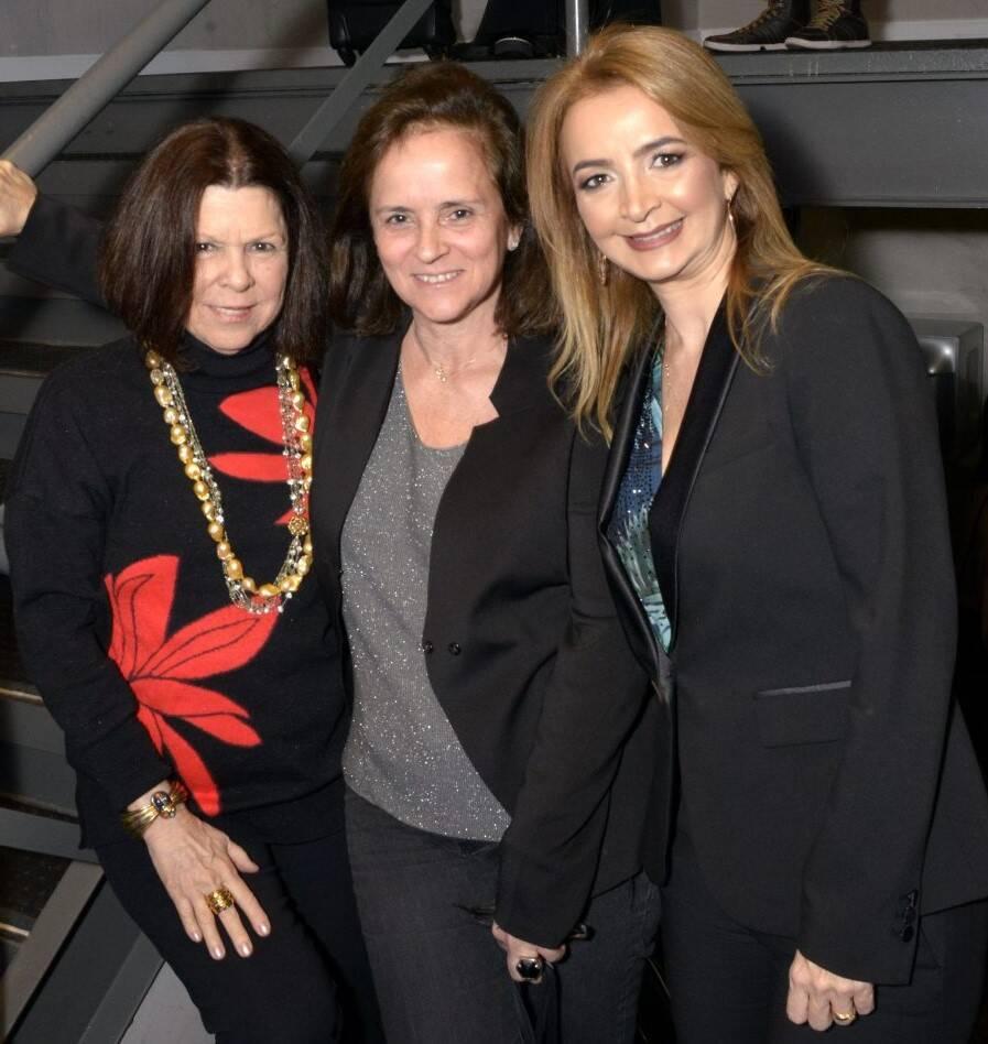Vanda Klabin, Patricia Quentel e Simone Cadinelli  /Foto: Cristina Granato