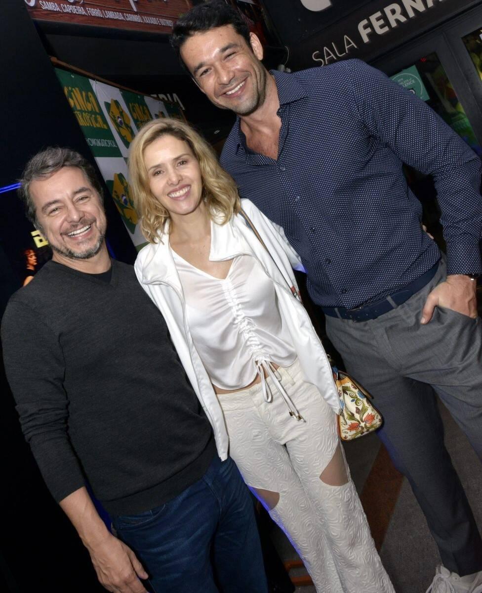 Carlos Vieira,  Leona Cavalli e Sergio Marone  /Foto: Cristina Granato