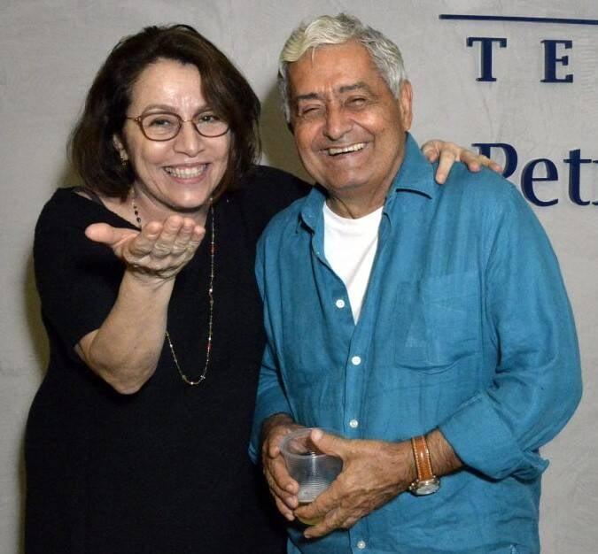 Carmen Mello e Luiz Gravatá  /Foto: Cristina Granato