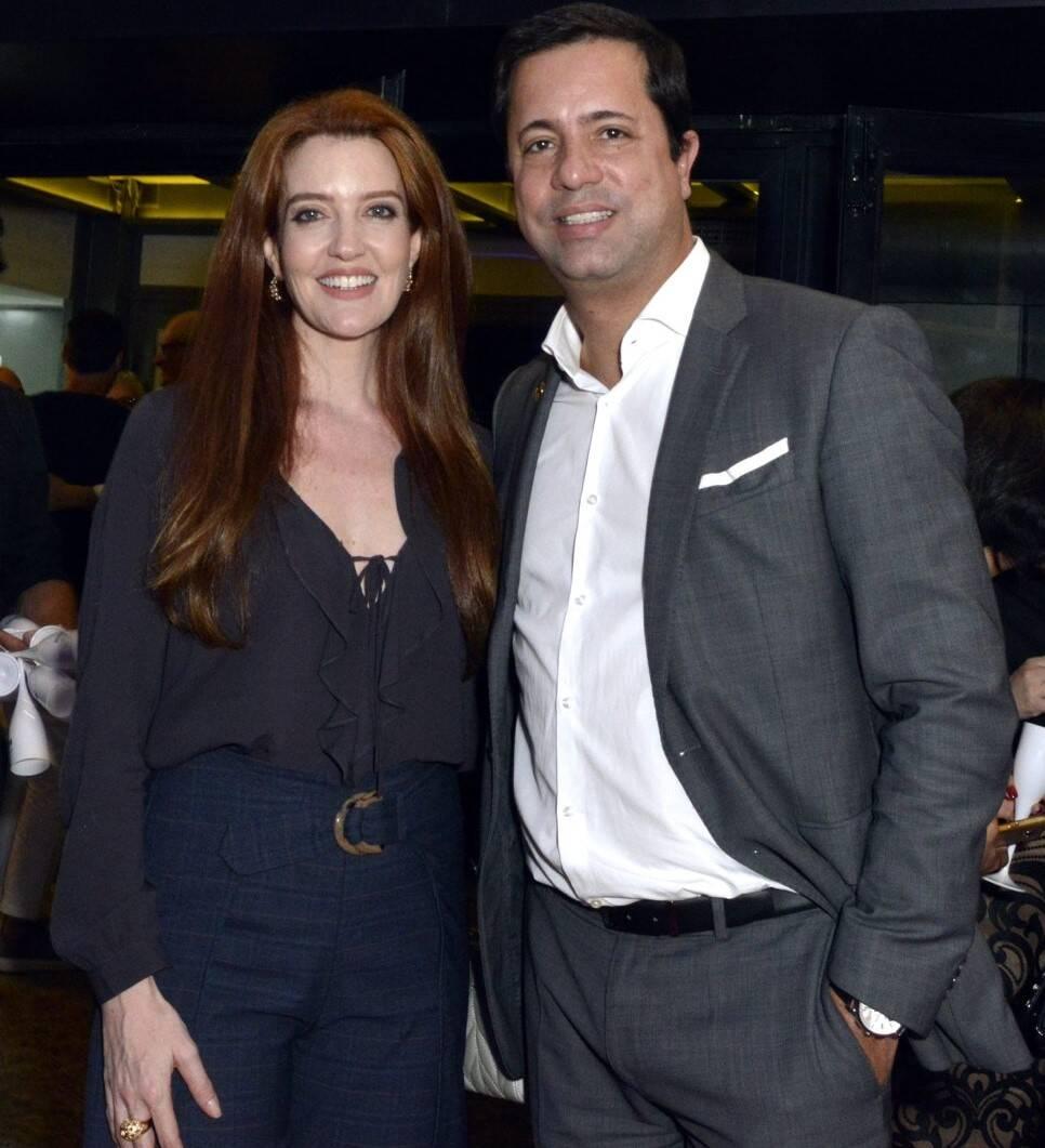 Larissa Maciel  e Eduardo Wanderley  /Foto: Cristina Granato