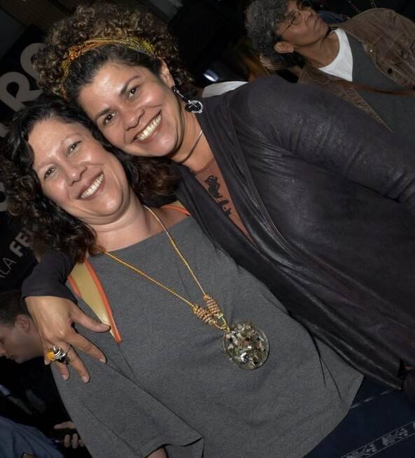Andrea Alves e Leila Moreno  /Foto: Cristina Granato