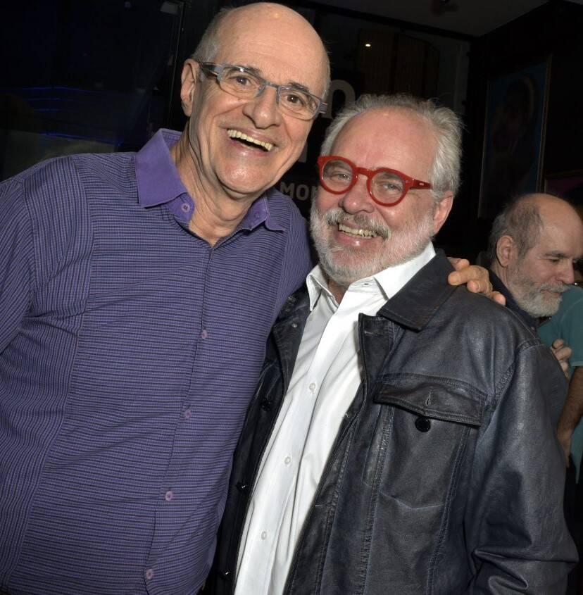 Marcos Caruso e Moacyr Góes  /Foto: Cristina Granato