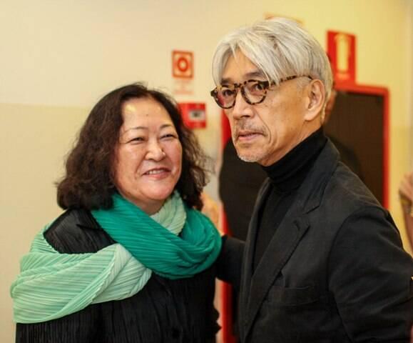 Angela Hirata e Ryuichi Sakamoto