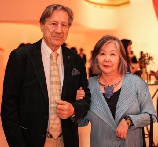 Celio Finazzi e Helena Mizumoto