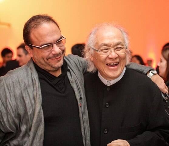 Marcello Dantas e Ricardo Ohtake