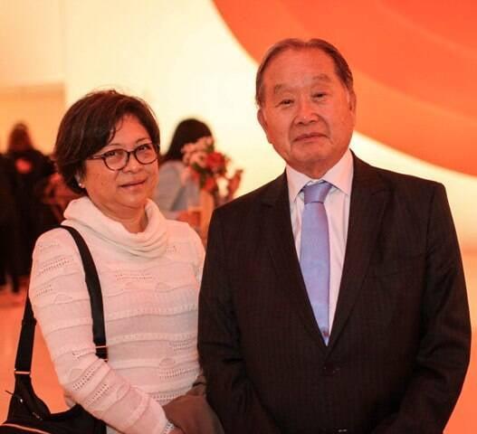 Olga Ishida e Renato Ishikawa
