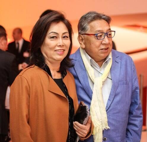 Raul Takakai e Nellie Yendo