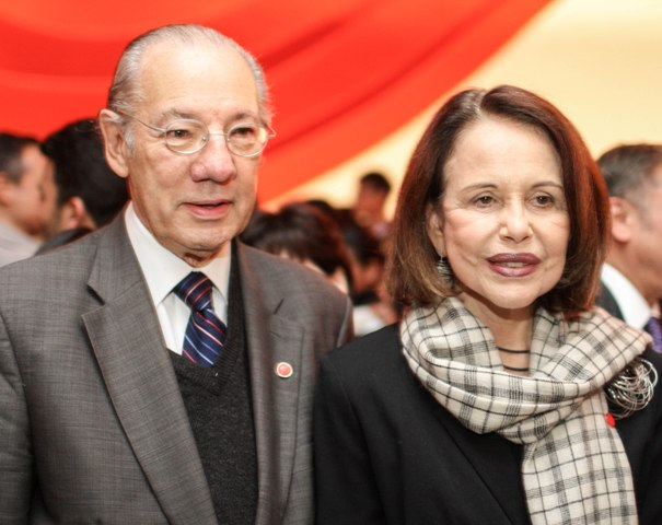 Rubens Barbosa e Maria Ignez Barbosa