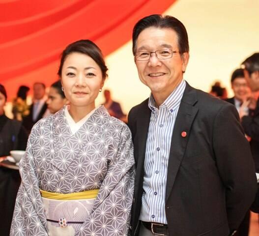 Sinji e Junko Tsuchiya