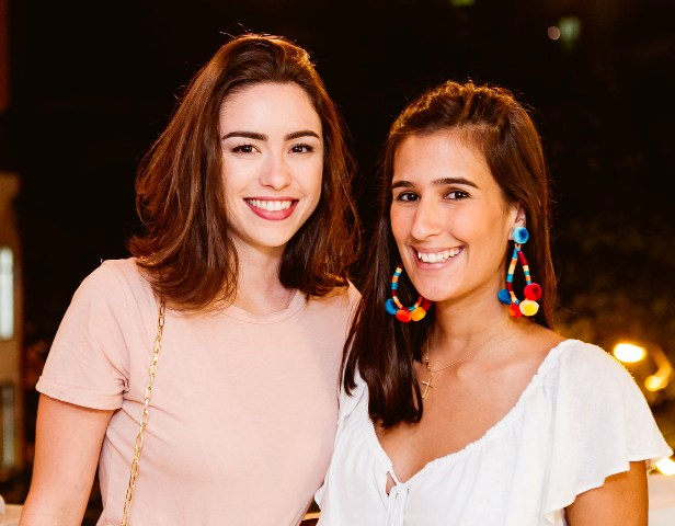 Fernanda Lanat e Paula Bandeira