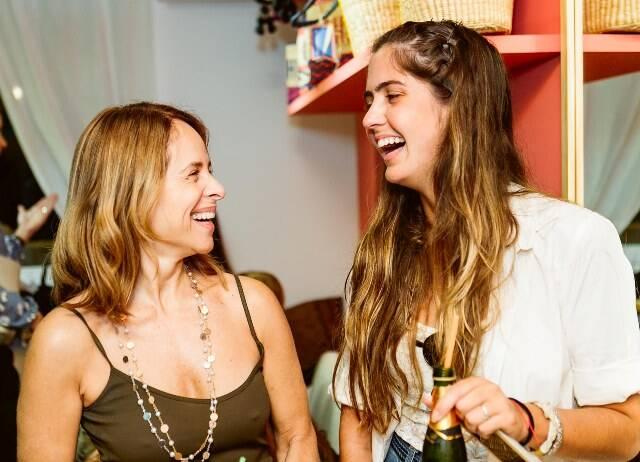 Gisela Mattoso e Gabriela Rondinelli