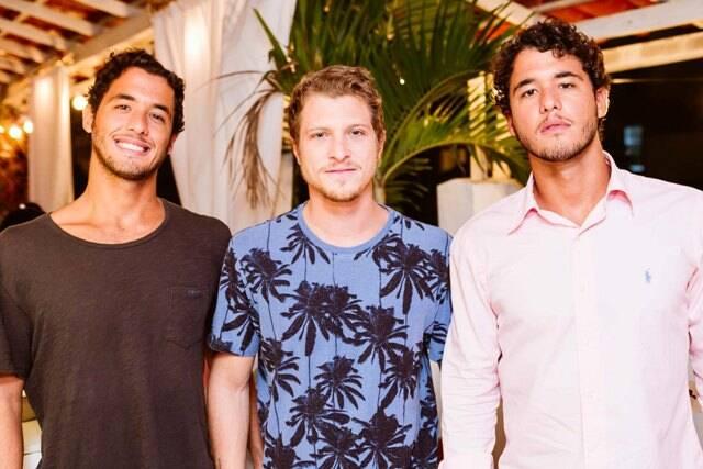 Gustavo Kemp, Wayan Nicholas e Rafael Kemp