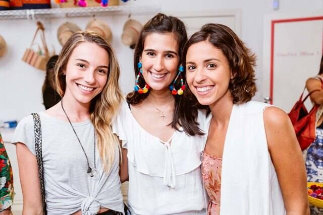 Maria Pellegrino, Paula Bandeira e Sophia Wilson